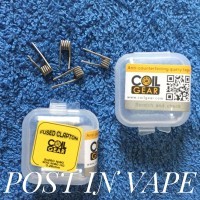 FUSED CLAPTON 26 NI80 HG 26x2 40 - BY COIL GEAR AUTHENTIC COIL