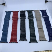 Magnetic Leather Loop Apple Watch Strap 42mm strap apple watch magnet