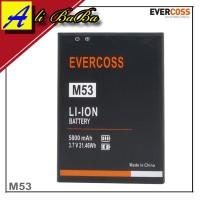 Baterai Handphone Evercoss M53 Double Power Evercoss Batre HP Evercoss