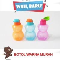 Botol Minum Flip Top Boneka Souvenir Ulang Tahun Murah - 300 ML