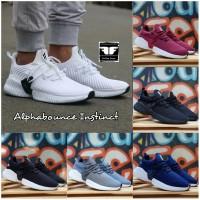 Sepatu Running Sport Adidas Alphabounce Pria Jogging Jalan Santai Kece