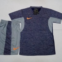 Jersey Baju Setelan Futsal Bola Nike NKC01 Misty Navy GRADE ORI