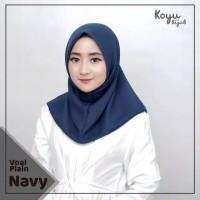 jilbab / kerudung / hijab instan voal plain polos