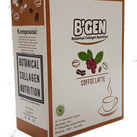 B'gen Minuman Coffe Collagen Low Fat & Low Kalori