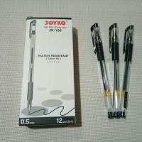 Pulpen joyko gel pen JK-100 murah