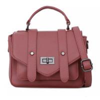 Tas Wanita Lorica by Elizabeth Nada Satchel Bag Pink