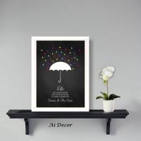 Poster Kata Inspiratif - Quotes Life - Dekorasi Hiasan Dinding Pigura
