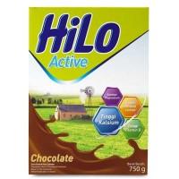 Hilo Active Chocolate / Hi Lo Active Chocolate / Aktif Coklat 750gr /