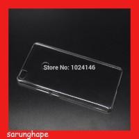 Clear Hard Case Casing Transparan Xiaomi Redmi 3 Pro