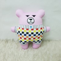 Kado Boneka Anak & Dewasa Size M 35cm Beruang Chubby - 5 Petal