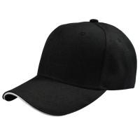 Topi Baseball Polos - Black with White Side