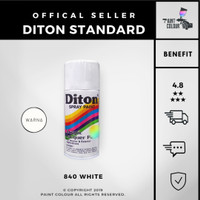 Diton 840 White Cat Semprot/Pylox/Samurai Motor/Helm/Gundam