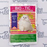 BIO TIC / BIOTIC 50 Gr Penghilang Bau Kotoran Anjing Kucing Cat Dog