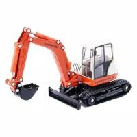 KDW Diecast Alat berat Compact Excavator