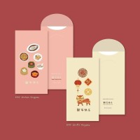 Angpao Chinese New Year (6 pieces / pack)