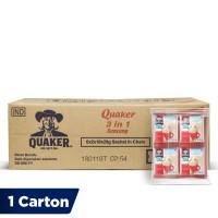Quaker 3 in 1 Original Renceng - 120 Sachets [1 Carton]