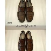 Jeslyn Quinn Wax Seal Premium Leather Polish Semir Sepatu Kulit
