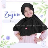 (XS) Khimar Zayna Jersey Fenuza Jilbab Syari Bayi Balita Anak Adem