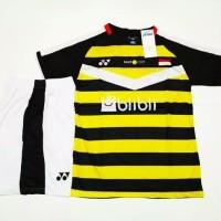 Setelan BADMINTON / BULUTANGKIS Yonex Y.34 Yellow Black