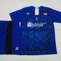 SETELAN BADMINTON / BULUTANGKIS Yonex Y.137 (Blue)