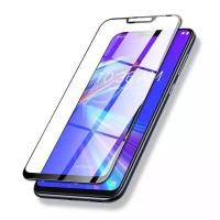 Tempered Glass Asus Zenfone Max M2 ZB633KL Warna Full Screen Cover - Hitam