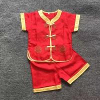 Cheongsam Setelan Baju Anak Import Set Kaos Anak Kualitas Premium CAP