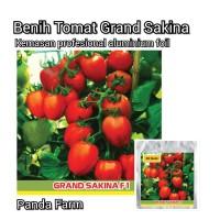 Isi 20 Benih Biji Tomat Grand Sakina Lebat Buahnya Kemasan Profesional