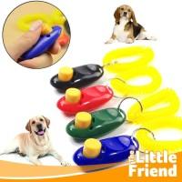 Dog Pet Clicker/Kliker Alat Latihan Training Hewan Peliharaan Anjing