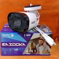 Camera CCTV Outdoor 2 Megapixel Hybrid SPC BAZOOKA Garansi RESMI