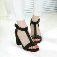 Super Promo! Sandal High Heels Wanita Hak Tahu SDH40 Murah!
