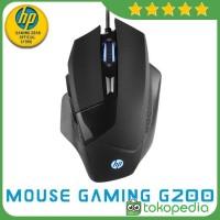 HP Mouse Gaming G200 Ningrat Collection - Hitam