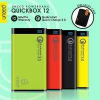 """UNEED Powerbank 12000mAh Qualcomm Quick Charge 3.0 QuickBox 12"""