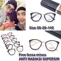 Frame Kacamata minus 58538 kacamata hijab kacamata anti radiasi