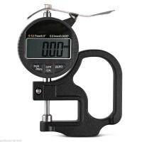 Thickness Gauge Digital Ukur Ketebalan Plastik Kertas Logam Micrometer