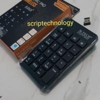 M-Tech Keyboard Numeric Wireless USB 2.4GHz - Keypad Numerik Wireless