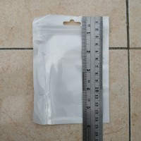 Plastik Klip Plastik Ziplock Putih 10.5 x 12.5 cm + 2cm