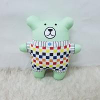 Kado Boneka Anak & Dewasa Size Xs 25cm Beruang Chubby - 4 Celery
