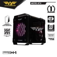Casing PC Gaming Rakitan Armaggeddon Hagane H1 Mini ITX