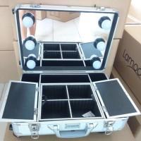 Beauty Case Aluminium Lampu - Lamoode