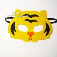 Topeng hewan harimau tiger topeng pesta ulang tahun Flanel kostum