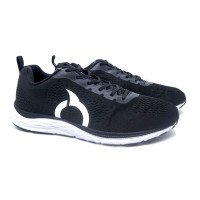 Sepatu Running Ortuseight Vector (Black/White)