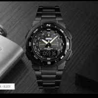 Jam Tangan Pria Digital SKMEI 1370 Black Water Resistant 50m