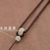 Kalung Tali Untuk Liontin Batu Giok Bandul Kerajinan J056
