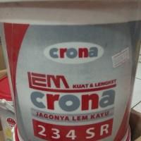 Lem crona 234 ( 4 kg ) jagonya lem kayu
