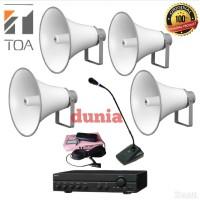 Paket Sound System Masjid TOA Horn ZH 5025 BM Original 4 x 25 Watt