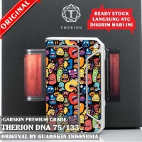 Original! Therion DNA 75/133 Garskin Skin Mod Vape - Doodle