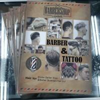 Buku Model Rambut & Tattoo / Ukir Rambut