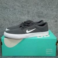 NIKE SB PORTMORE CNVS 723874-010 Sepatu Casual Sneakers ABU-ABU GREY