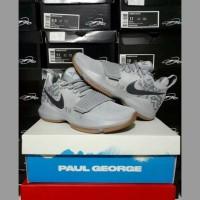 Sepatu Nike Paul George P 1 OKC Grey Superstition