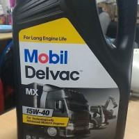 GROSIR Oli MOBIL 1 DELVAC MX SAE 15W 40 Galon 5 liter stok terbat